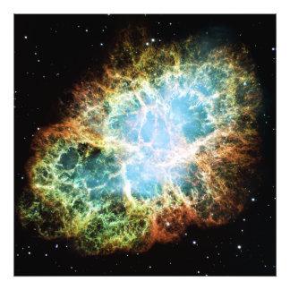 O Taurus 1952 da nebulosa de caranguejo M1 NGC A Impressão De Foto