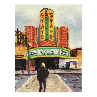 O teatro Ann Arbor do estado Cartão Postal