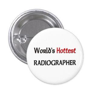O técnico de radiologia o mais quente dos mundos bóton redondo 2.54cm
