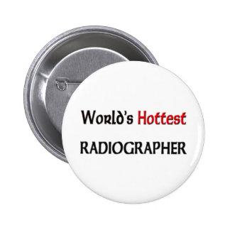 O técnico de radiologia o mais quente dos mundos bóton redondo 5.08cm