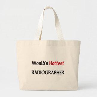 O técnico de radiologia o mais quente dos mundos sacola tote jumbo