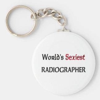 """O técnico de radiologia o mais """"sexy"""" do mundo chaveiros"""
