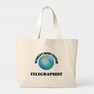 O Telegraphist o mais inteligente do mundo Bolsa De Lona