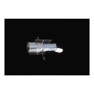 O telescópio espacial de Hubble (HST) Impressão De Foto