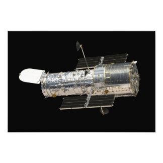 O telescópio espacial de Hubble Impressão De Foto