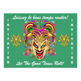 O tema do partido do carnaval importante considera convite