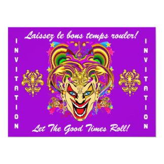 O tema do partido do carnaval importante considera convites