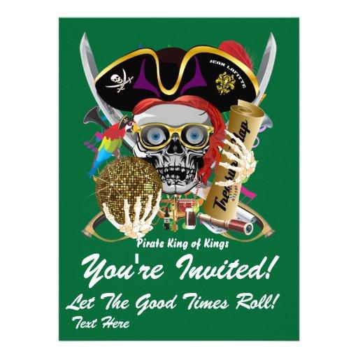 O tema do partido do carnaval vê por favor notas convites personalizados