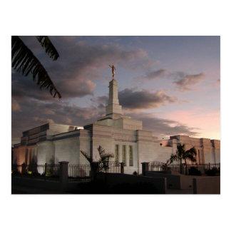 O templo de San José Costa Rica LDS Cartão Postal