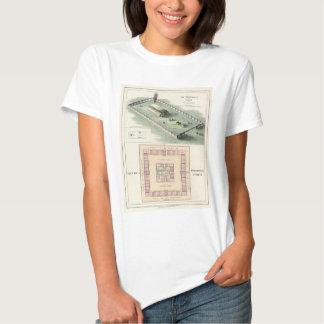 O templo de Solomon T-shirts