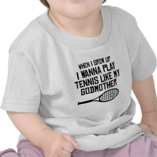 O tênis do jogo gosta de minha madrinha camisetas