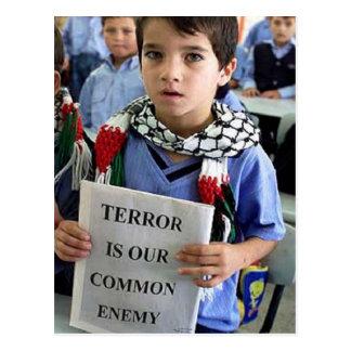 O terror é nosso cartão inimigo comum