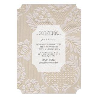 O teste padrão floral francês do papel de parede d convites