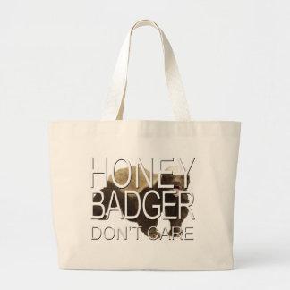 O texugo de mel não se importa bolsas