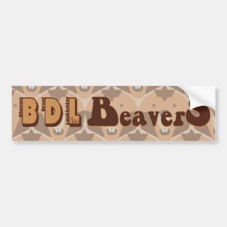 "o ""theCUBICLE"" BDL Beavers o autocolante no vidro  Adesivo Para Carro"