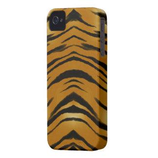 O tigre dos Arty listra a capa de telefone do gato