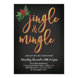 O tinir & mistura o convite da festa natalícia
