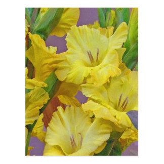O tipo de flor floresce o cartão