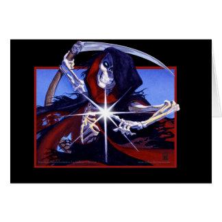 O toque do cartão da morte
