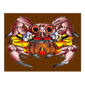 O Totem da aranha Cartão Postal
