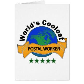 O trabalhador postal o mais fresco do mundo