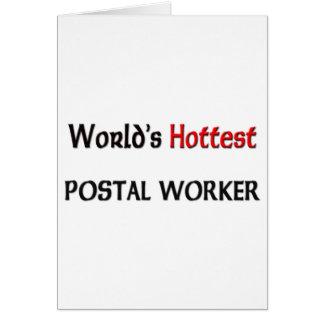 O trabalhador postal o mais quente dos mundos