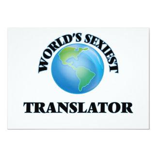 """O tradutor o mais """"sexy"""" do mundo convites personalizado"""