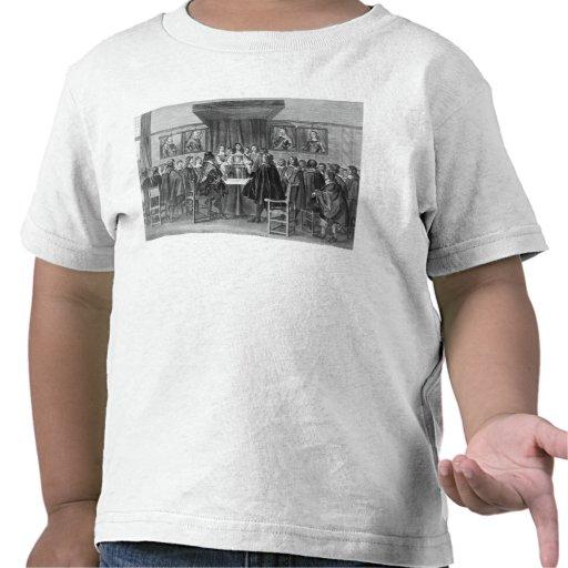 O Tratado de Breda, o 31 de julho de 1667 Camisetas