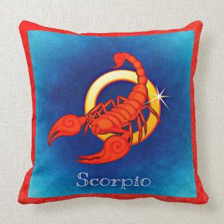 O travesseiro da astrologia do zodíaco do sinal do almofada
