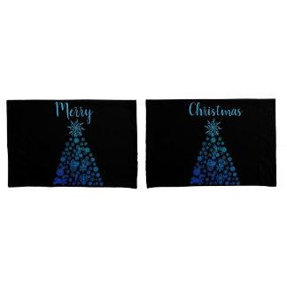 O travesseiro do Natal encaixota árvores de Natal