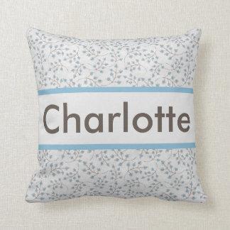 O travesseiro personalizado de Charlotte Almofada