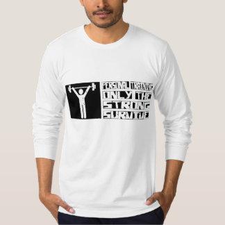 O treinamento pessoal sobrevive camiseta