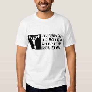O treinamento pessoal sobrevive t-shirt