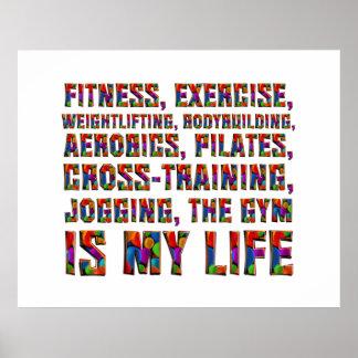 O treinamento SUPERIOR é minha vida Pôster