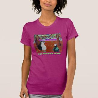 O trem mexicano é meu jogo! t-shirt