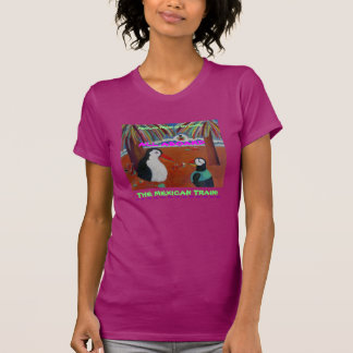 O trem mexicano é meu jogo! t-shirts