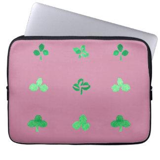"""O trevo sae da bolsa de laptop 13"""" bolsas e capas para computadores"""