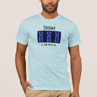 O Trisomy é muito bem comigo Camiseta