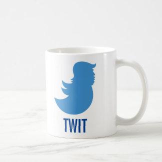 """O trunfo suga a caneca de café: """"TWIT """""""