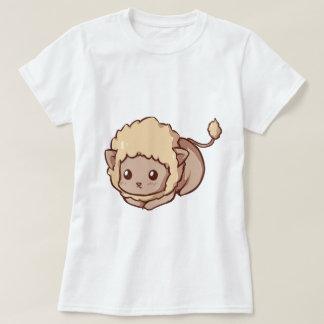O Tshirt das mulheres de Caras Kawaii Camiseta