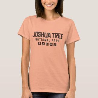 O tshirt das mulheres do parque nacional de árvore camiseta