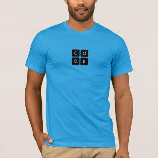 o Tshirt dos homens de Code.org Camiseta
