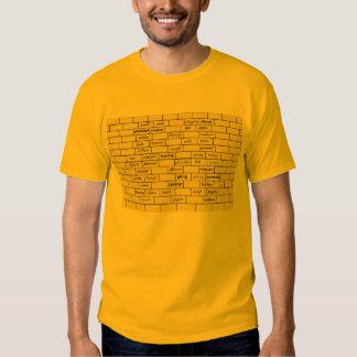 O Tshirt dos homens inspirados dos grafites