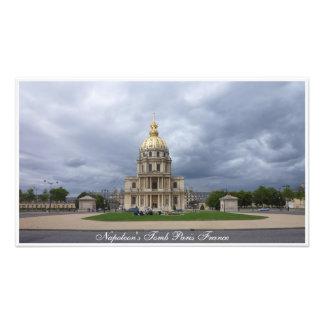 O túmulo Paris France de Napoleon do impressão da