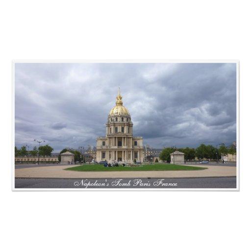 O túmulo Paris France de Napoleon do impressão da  Foto