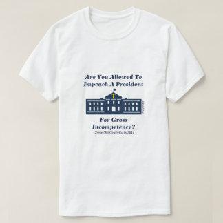 O Tweet da destituição - uma camisa de MisterP