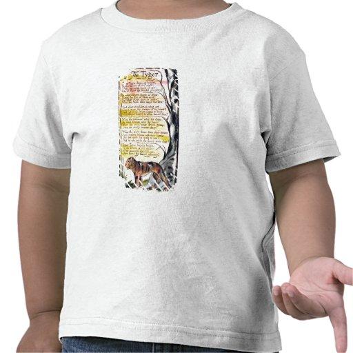 """""""O Tyger"""", chapeia 36 (Bentley 42) 'das canções de Camiseta"""