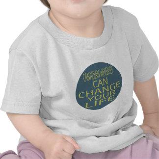 O uísque canadense pode mudar sua vida tshirts