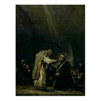 O último comunhão de St Joseph Calasanz Cartão Postal