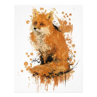 O último Fox Papel De Carta Personalizados
